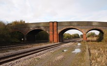 Finedon Station Road bridge, Burton Latimer