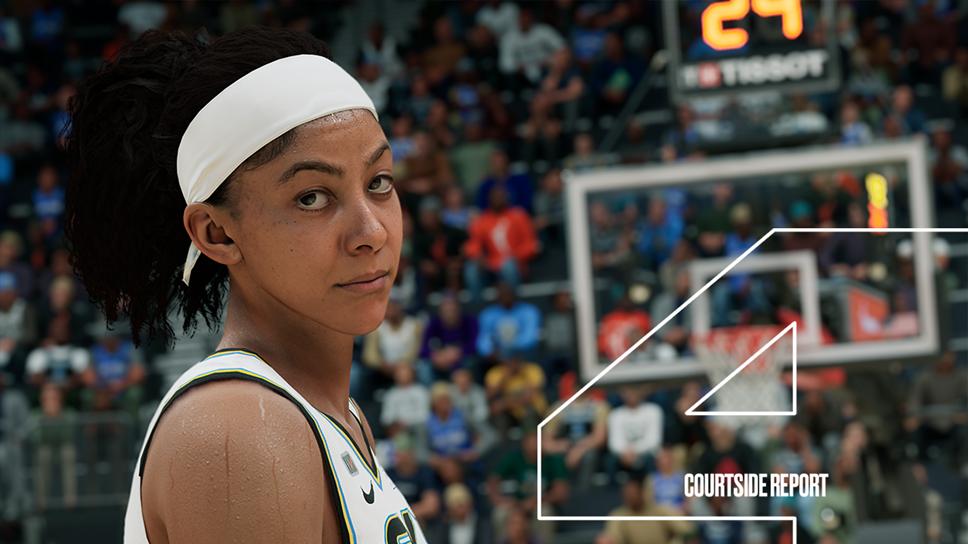 NBA 2K22 Courtside Report 4