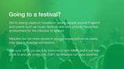 measles festival