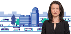 EU Green Week: putting public transport at the heart of mobility strategies to combat air pollution: Jana Siber, Managing Director Mainland Europe
