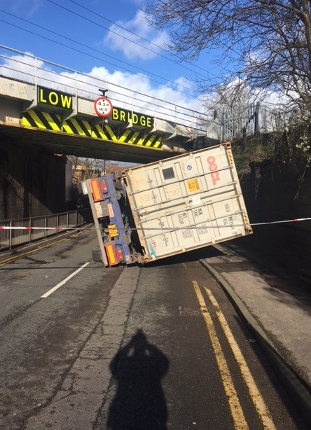 'Irresponsible' bridge-bash stupidity has got to stop: Erdington bridge strike-3
