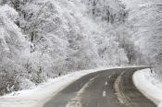 Weather update: travelling home for Christmas: Resilience-snow-road