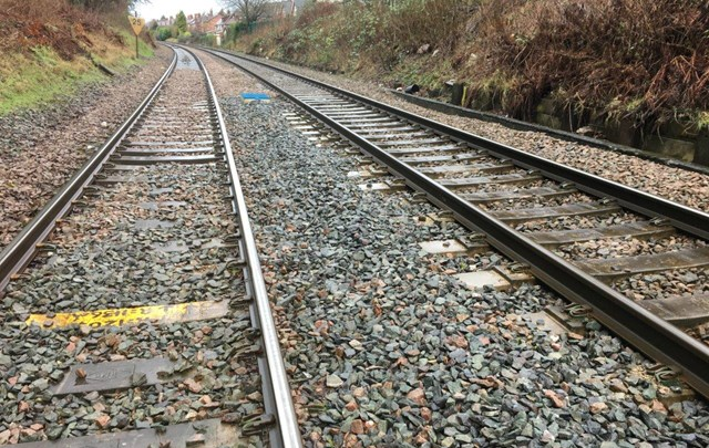 Working in packs to improve passenger journeys through 'Bleeding Wolf': The track which will be replaced at 'Bleeding wolf'