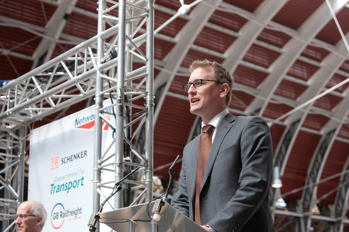 Patrick Hallgate, route managing director for Network Rail Western: Patrick Hallgate, route managing director for Network Rail Western