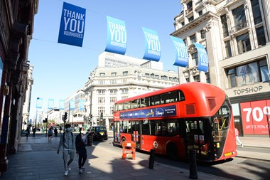 'Because I'm a Londoner' Photo Competition Launched With Focus On London's New Normal: (C) PA NWECShopsReopeningEdit077