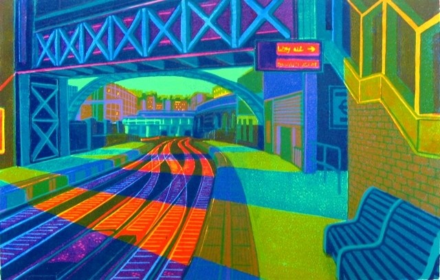 'First Light at Farringdon' by Gail Brodholt