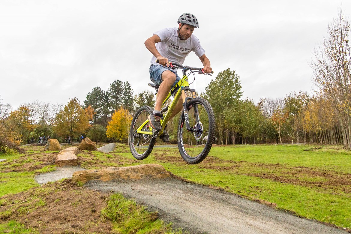 Boddington bike track set to open after receiving over £50,000 from HS2's community fund: Boddington Parish Council Bike Track
