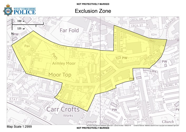 New powers to tackle street drinking in Armley approved: Armley Exclusion Zone v2 14.04.21-2