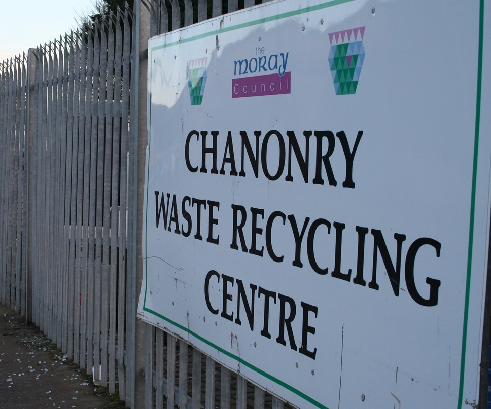 Recycling centres in Moray set to open 1 June: Moray in second place in recycling league table