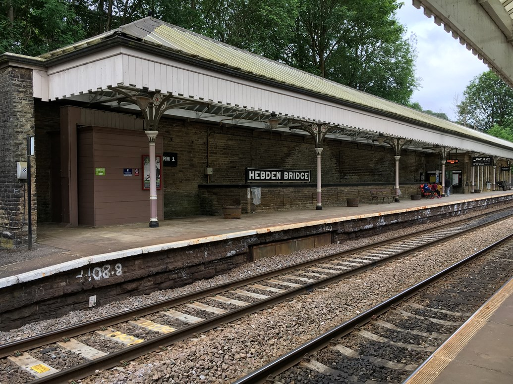 Major improvements at Hebden Bridge station begin this week: Major improvements at Hebden Bridge station begin this week