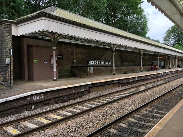 Major improvements at Hebden Bridge station begin this week: Major improvements at Hebden Bridge station begin this week