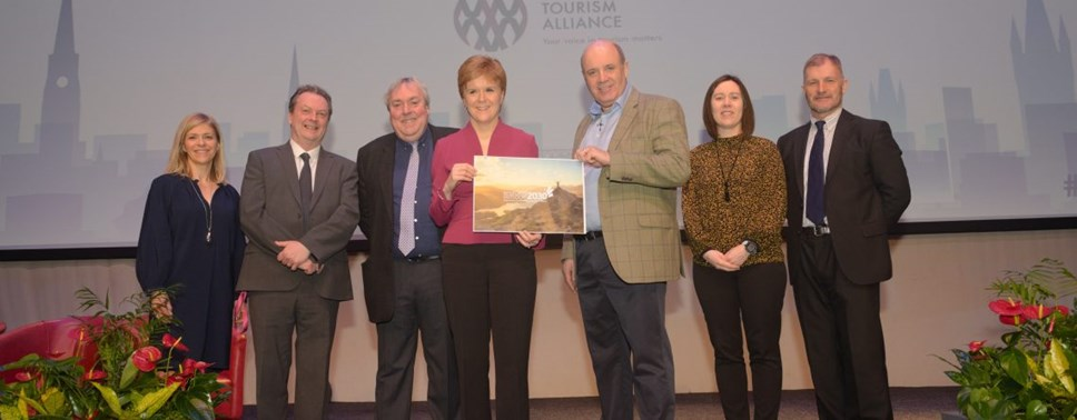 Tourism strategy hailed as the 'dawning of a new era' at official launch in Glasgow: STA-7