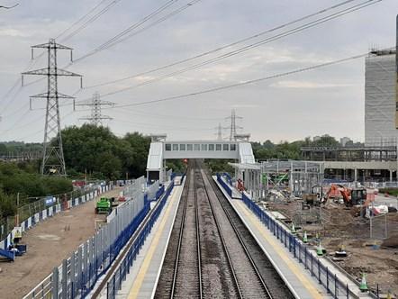 Green Park Station new footbridge: Green Park Station new footbridge