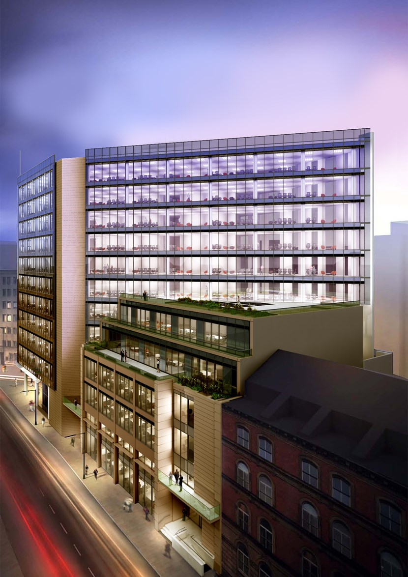 Green light for £85m development is hailed as major boost for Leeds City Council's City Square vision: City Square House 1