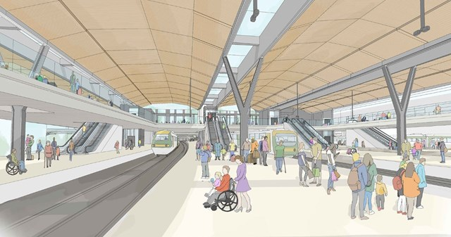 Brighton Main Line passengers urged to have their say on major upgrade proposals: East Croydon station