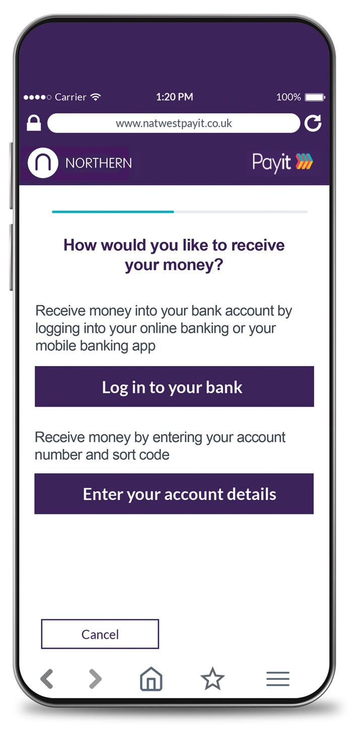 Payit mobile phone