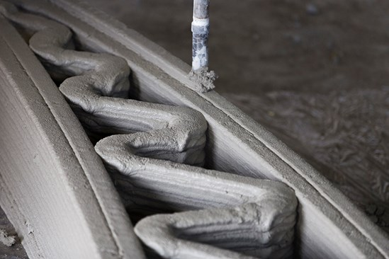 HS2 harnessing the power of pioneering 3D concrete printing to help cut carbon on project by up to 50%: 3D printing image (copyright iStock 2019)