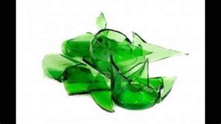 Residents urged not to put broken glass in kerbside recycling box: Broken Glass
