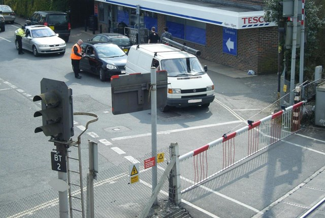 Billingshurst Level Crossing Awareness Day - Motorists