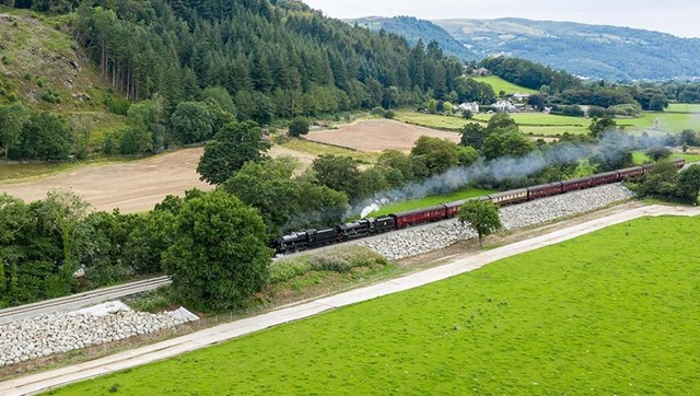 Full steam ahead for the Conwy Valley line: Conwy Valley Line Steam Train