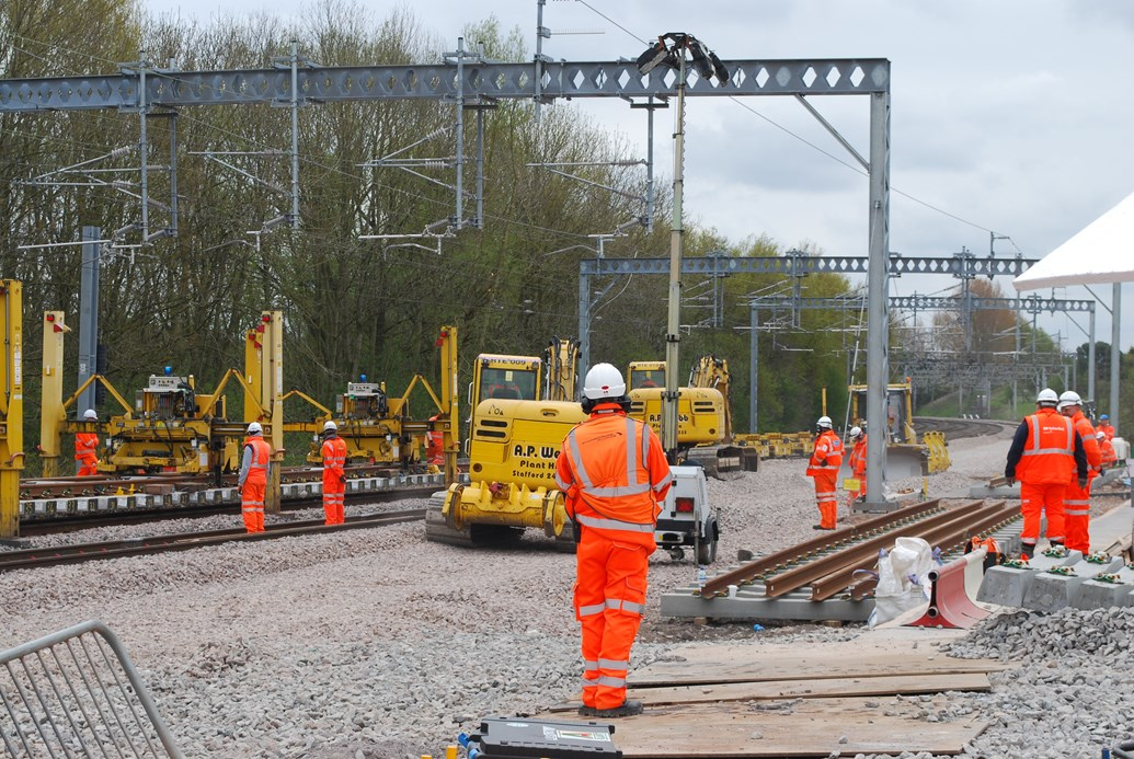 New siding at £250m Stafford rail development will cut deliveries by road: Stafford siding being built as part of £250m upgrade