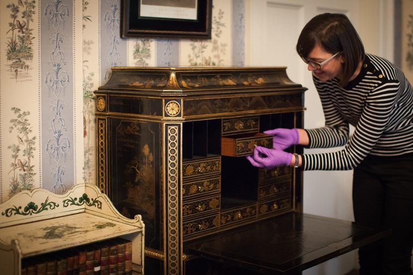 Object of the week- Chippendale lady's secretaire: templenewsamruth-3207.jpg