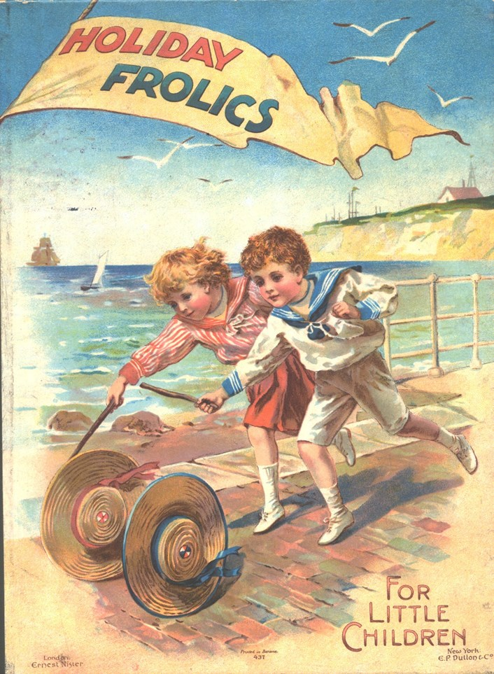 Life's a beach as historic seaside styles are revealed: holidayfrolicsbook-leedsmuseumsandgalleries-925591.jpg