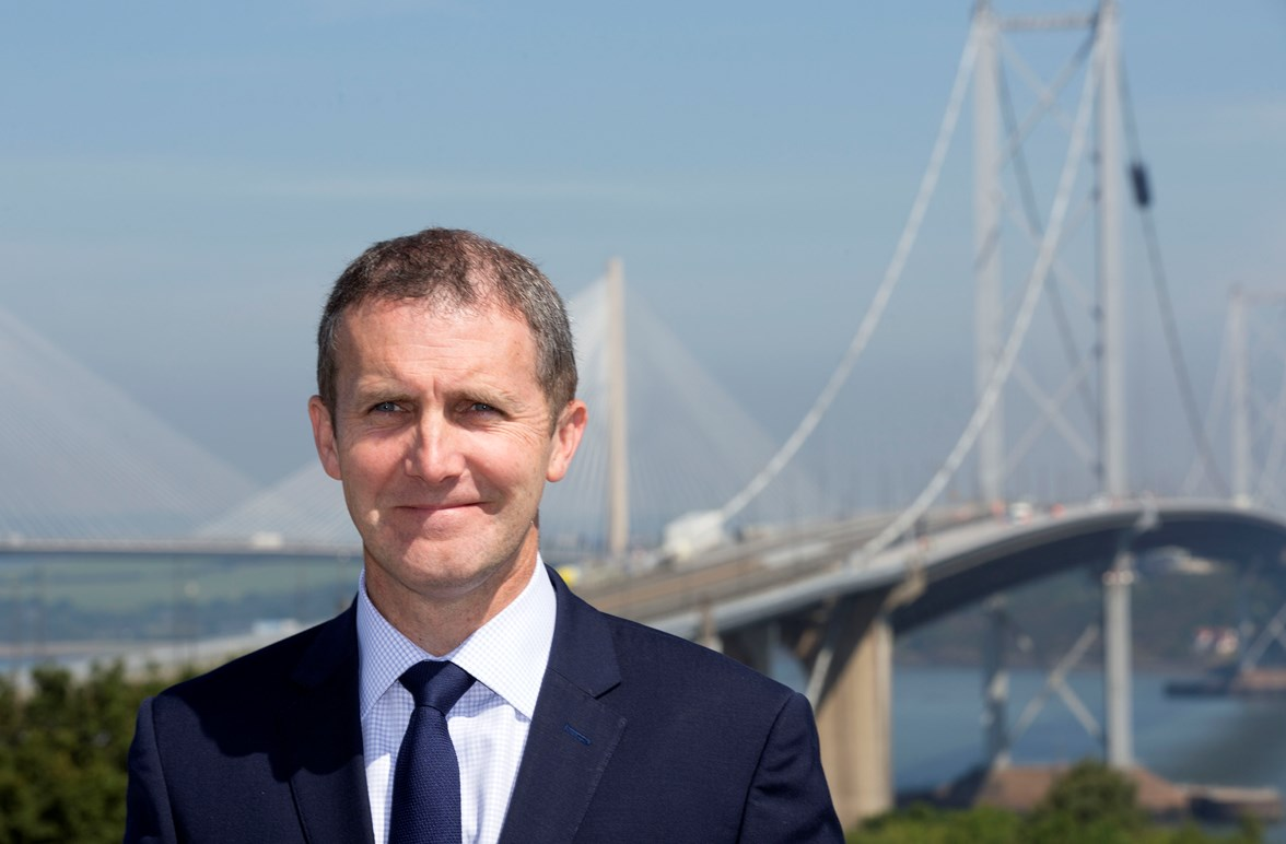 Cabinet Secretary for Transport, Infrastructure & Connectivity, Michael Matheson