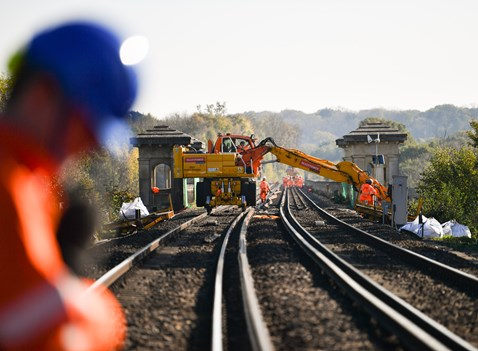 Brighton Mainline Upgrade Ouse Valley Oct 10  (9)