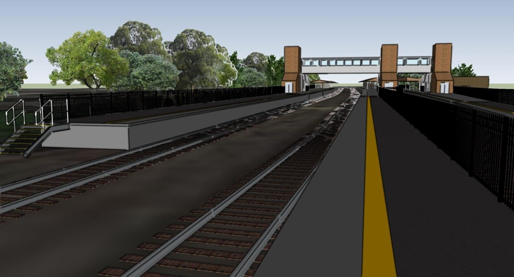 Passengers requiring step-free access advised to allow extra time for journeys from and to Ascot station during station upgrade: Ascot visualisation