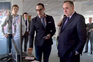 £6.6m for digital Scotland - List: First Minister announces funding to attract up to 11,000 jobs. From SG youtube