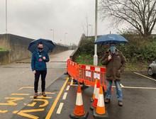 Elliott Waters Southestern Station Manager and NHS organiser Steve Davidsen
