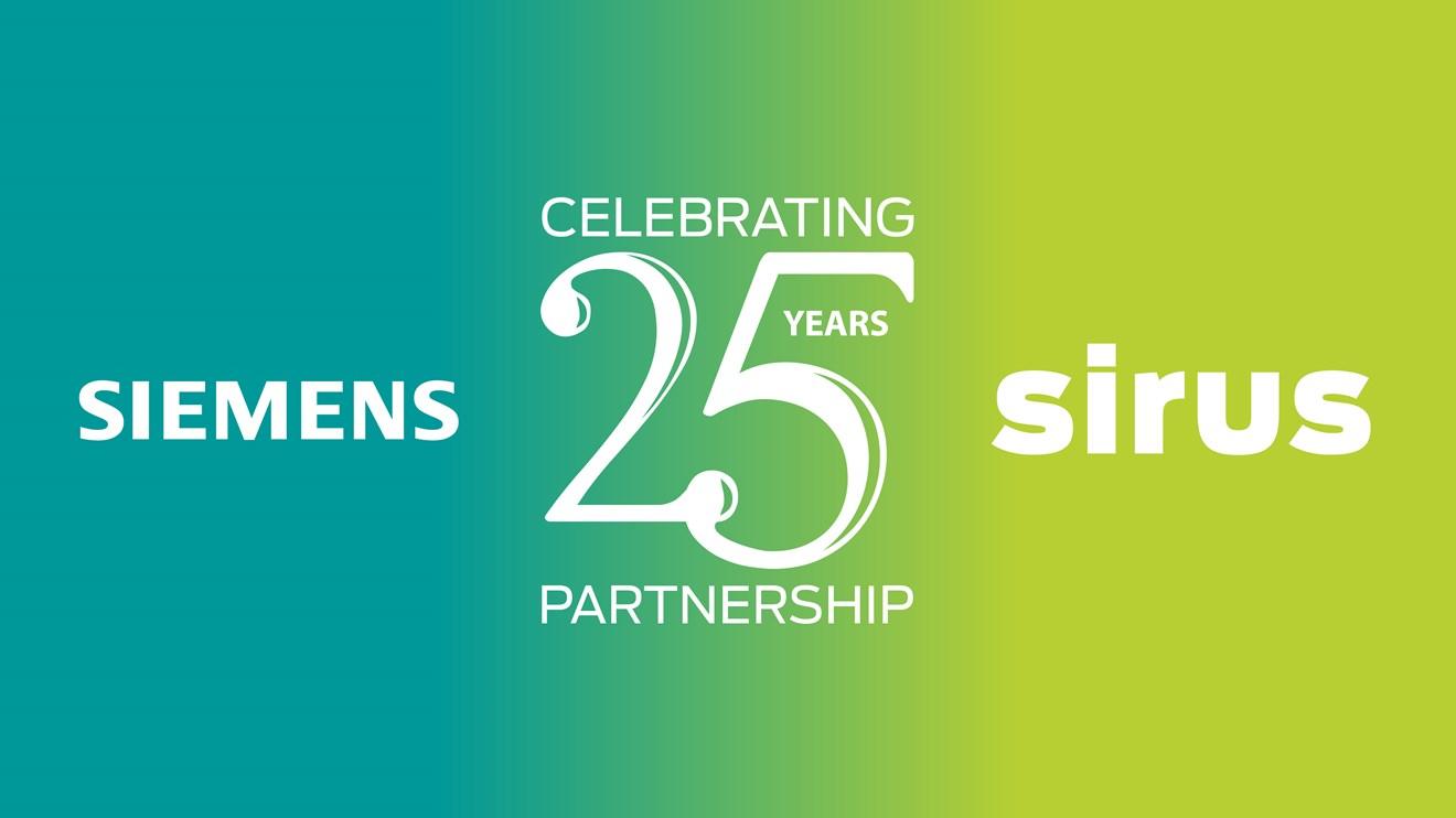 Siemens-Sirus-Celebrating-25-Years