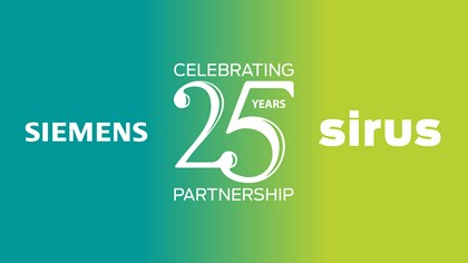 Siemens and Sirus celebrate 25 years of partnership: Siemens-Sirus-Celebrating-25-Years