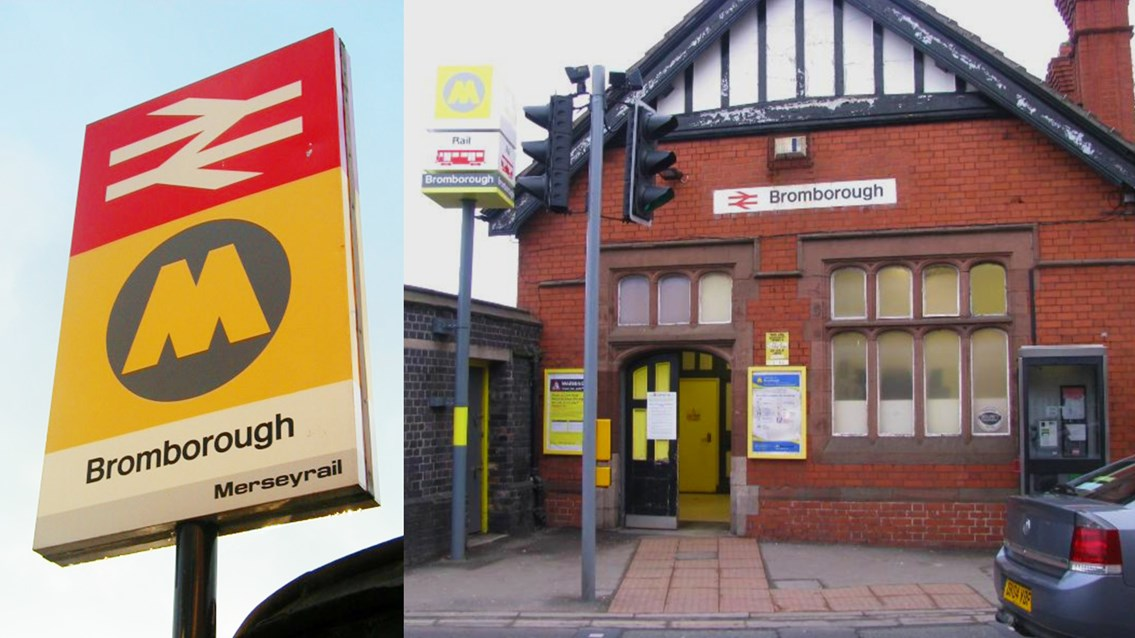 Bromborough station composite