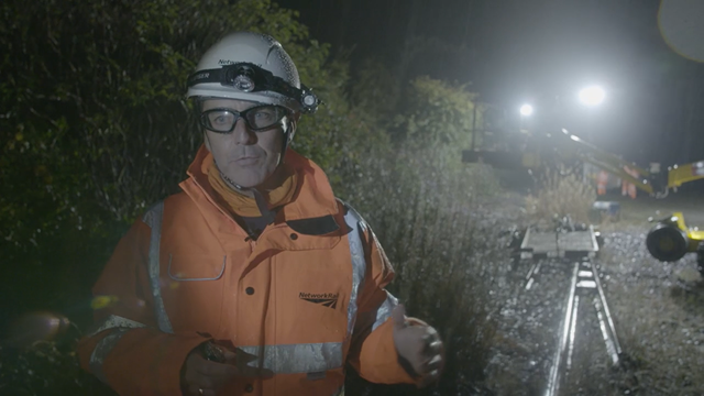 Network Rail worker from North East to feature in new BBC One documentary series: Network Rail worker from North East to feature in new BBC One documentary series Photo credit BBC and Matchlight
