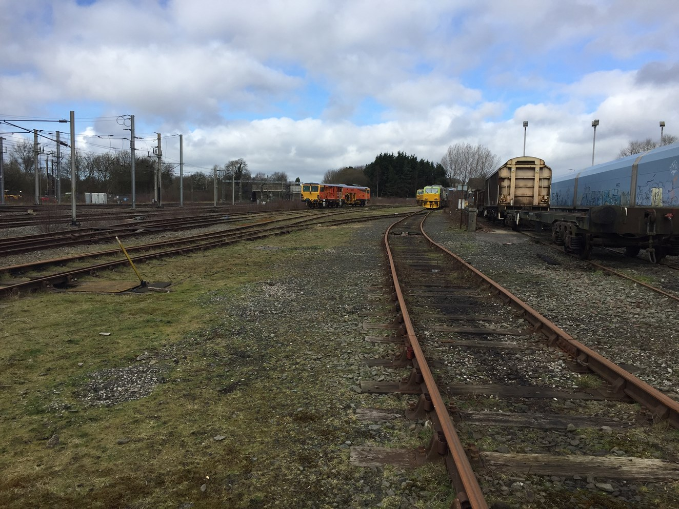 New 45m train depot planned for Wigan