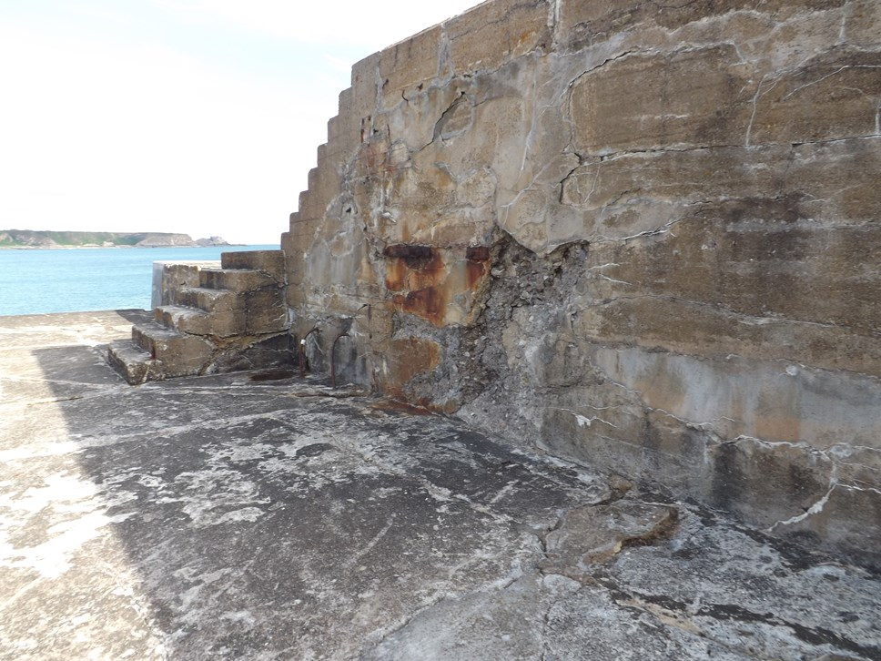 Cullen harbour repairs