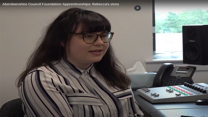 Foundation apprenticeship Rebeccas story (image)