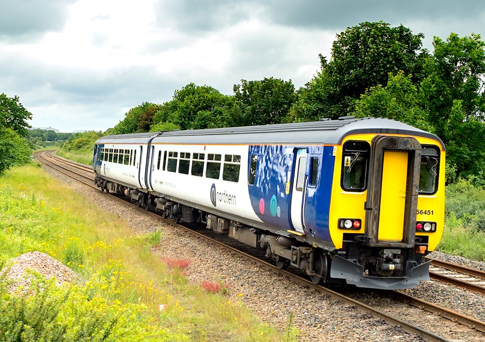 Chester customers set to benefit from new direct Leeds service: Class 156 156451 Northern Seaton Carew 6270010