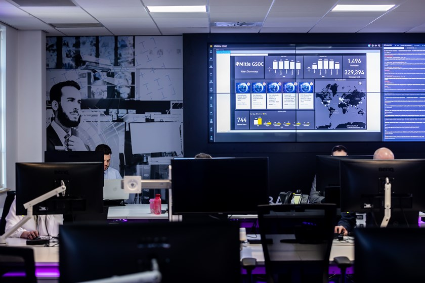 Mitie's Global Security Operations Centre
