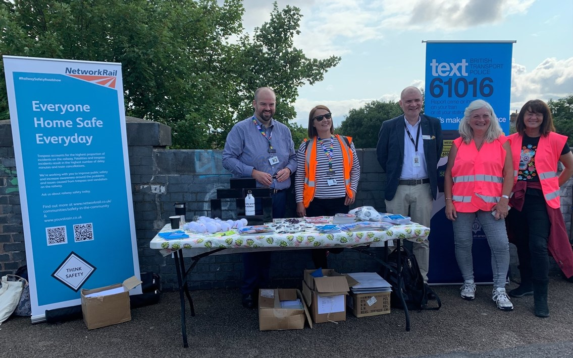 Network Rail joins community in South Wigston in project to tackle vandalism and trespassing: Network Rail joins community in South Wigston in project to tackle vandalism and trespassing