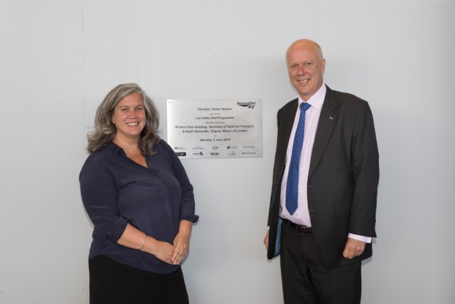 Meridian Water Heidi Alexander and Chris Grayling