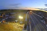 Major bridge milestone met: Braehead Rail Bridge