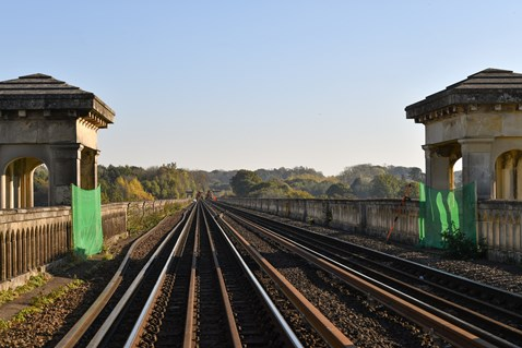 Brighton Mainline Upgrade Ouse Valley Oct 10  (69)