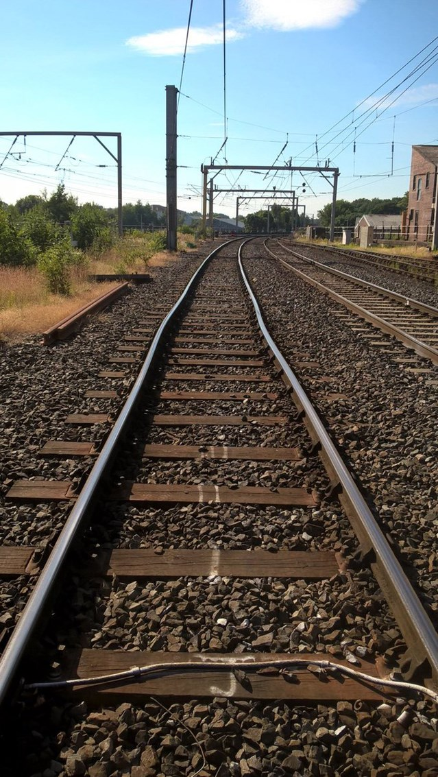 49 degrees Celsius track temperatures buckle rail at Carlisle: Buckled rail Carlisle