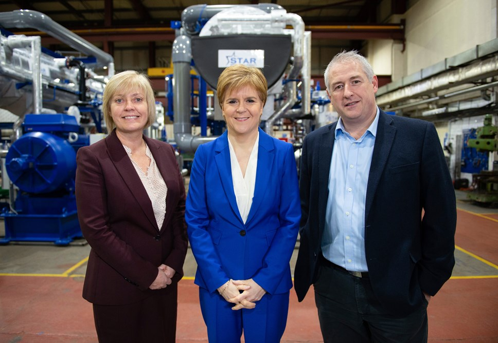 First Minister launches £6M Scottish Enterprise fund as a catalyst to support SMEs low carbon capabilities: LCCF announce 004