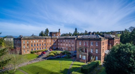 Five star hotel and spa plan for Crichton Hall: crichton hall 1