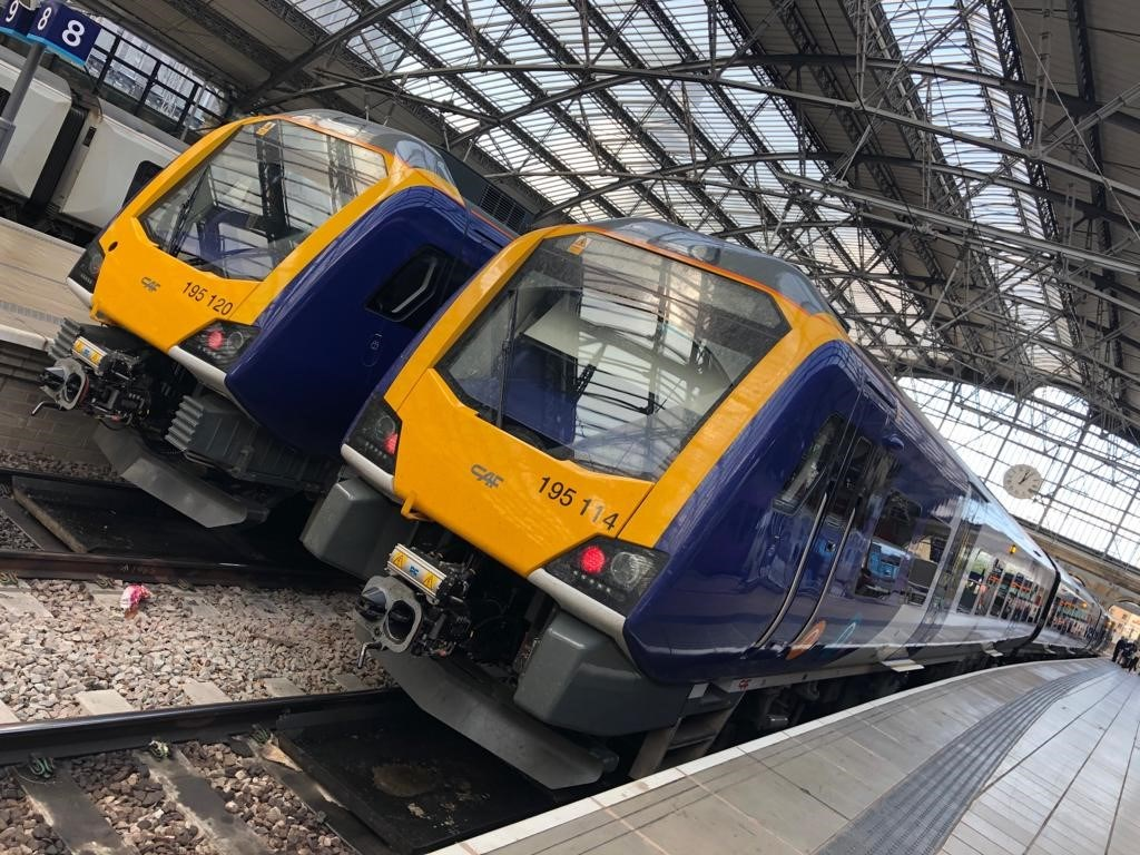 New trains at Lime Street 1
