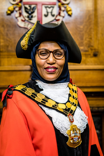 Mayor of Islington, Cllr Rakhia Ismail